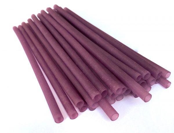 Purple Drinking Straws